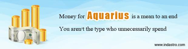 Aquarius Finance and Money Horoscope