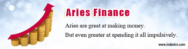 Aries Finance and Money Horoscope