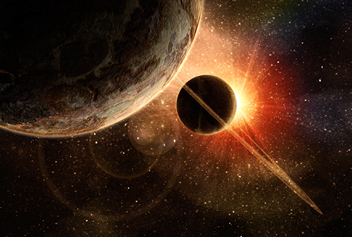 Sun, Mars, Venus Conjunction - 3 Planets Conjunction