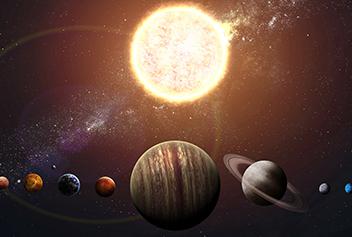 Mars, Mercury Conjunction - 2 Planets Conjunction