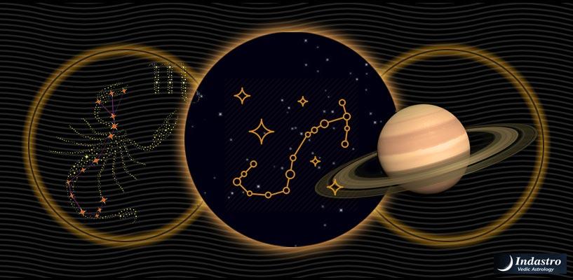 vedic astrology saturn in scorpio
