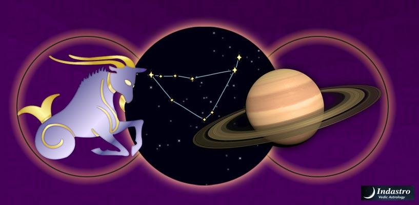 saturn in capricorn vedic astrology