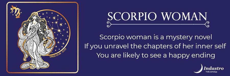 When you hurt a scorpio woman