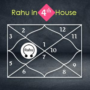 Rahu in 4th house vedic astrology moon