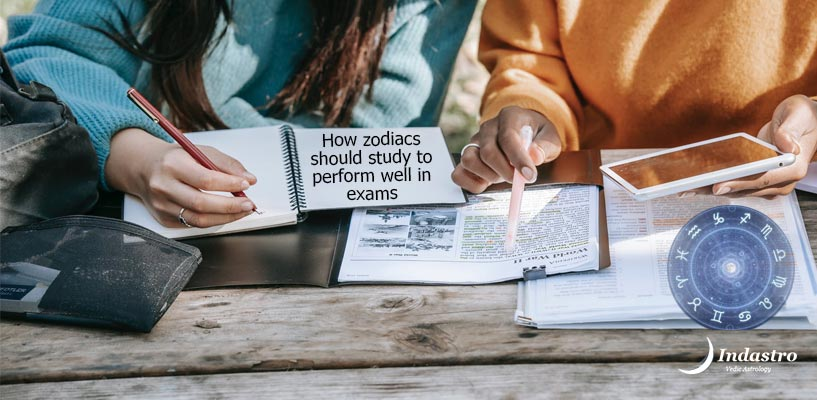 Studying during exams as per your zodiac